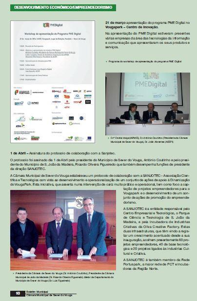 BoletimMunicipal-nº 31-nov'14-p.10-Desenvolvimento económico [5.ª parte de oito] : empreendedorismo : VougaPark.JPG
