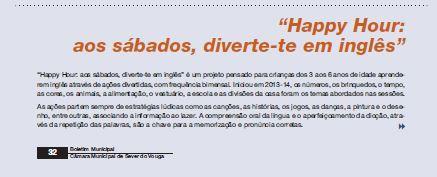 BoletimMunicipal-nº 31-nov'14-p.32-Happy hour : aos sábados diverte-te em inglês : cultura e turismo.JPG