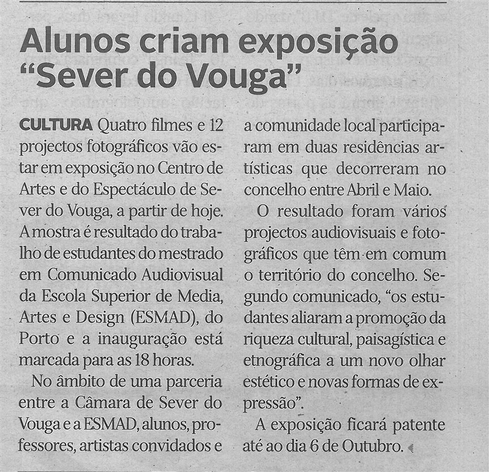 DA-26jul.'19-p.11-Alunos criam exposição Sever do Vouga.jpg