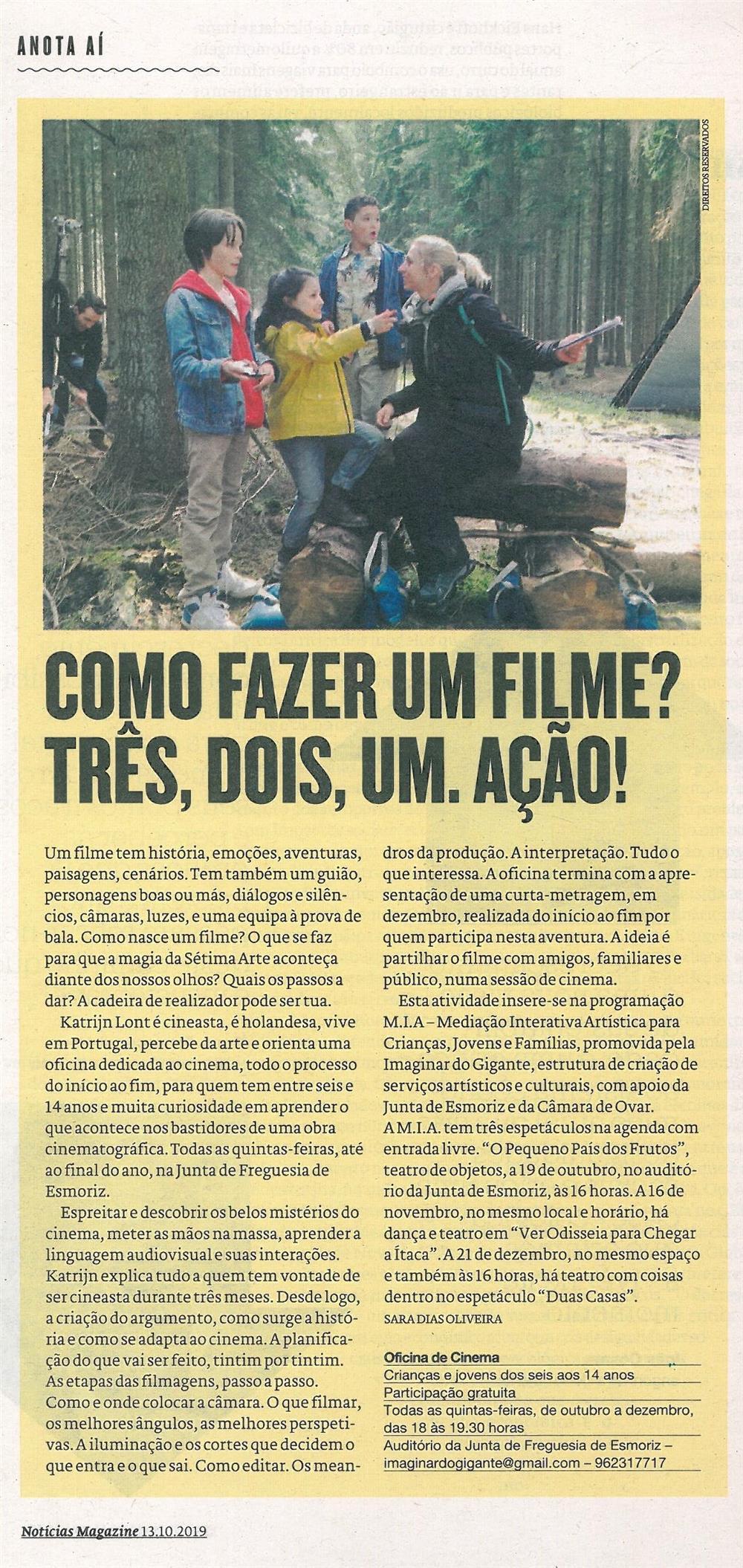 NMagazine-13out.'19-p.33-Como fazer um filme : três, dois, um, ação.jpg