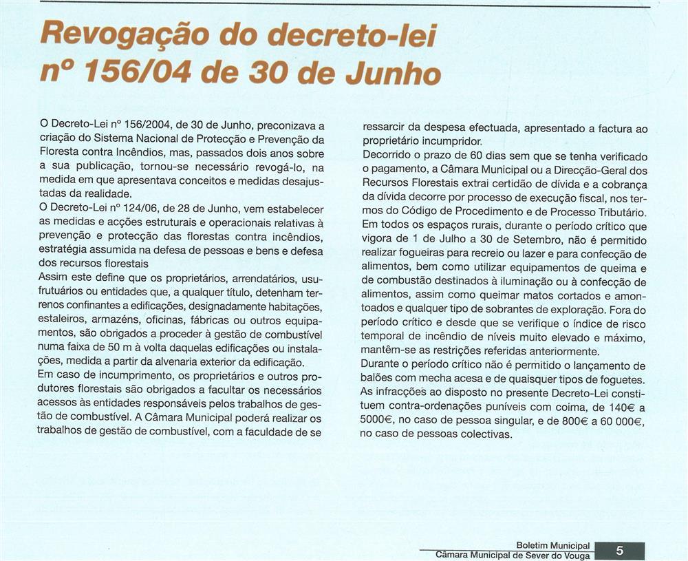 BoletimMunicipal-n.º 20-set.'06-p.5-Proteção civil : revogação do Decreto-Lei n.º 156-04 de 30 de junho.jpg