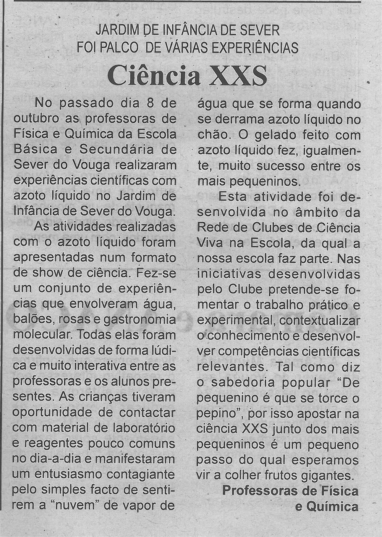 BV-1.ªnov.'19-p.6-Ciência XXS : Jardim de Infância de Sever foi palco de várias experiências.jpg