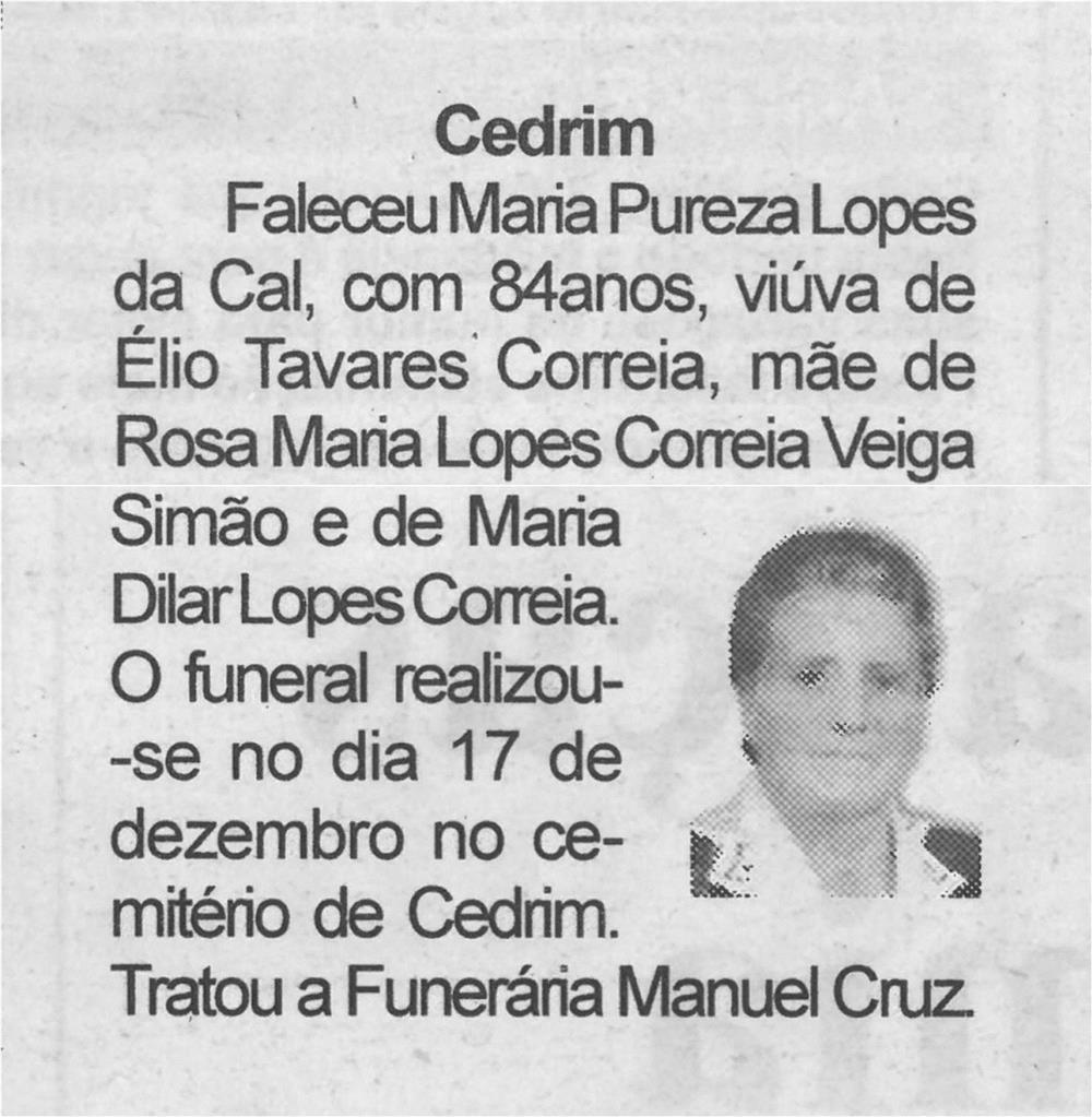 BV-23dez.'20-p.13-Cedrim : [Maria Pureza Lopes da Cal].jpg