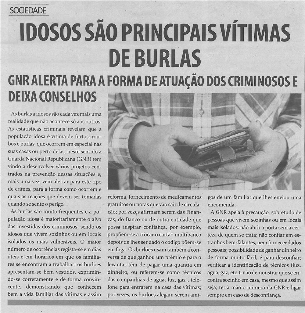 TV-abr13-p5-Idosos são principais vítimas de burlas