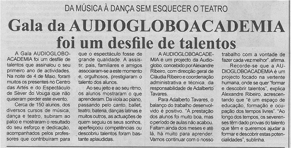 BV-2ªmaio13-p5-Gala da Audiogloboacademia foi um desfile de talentos