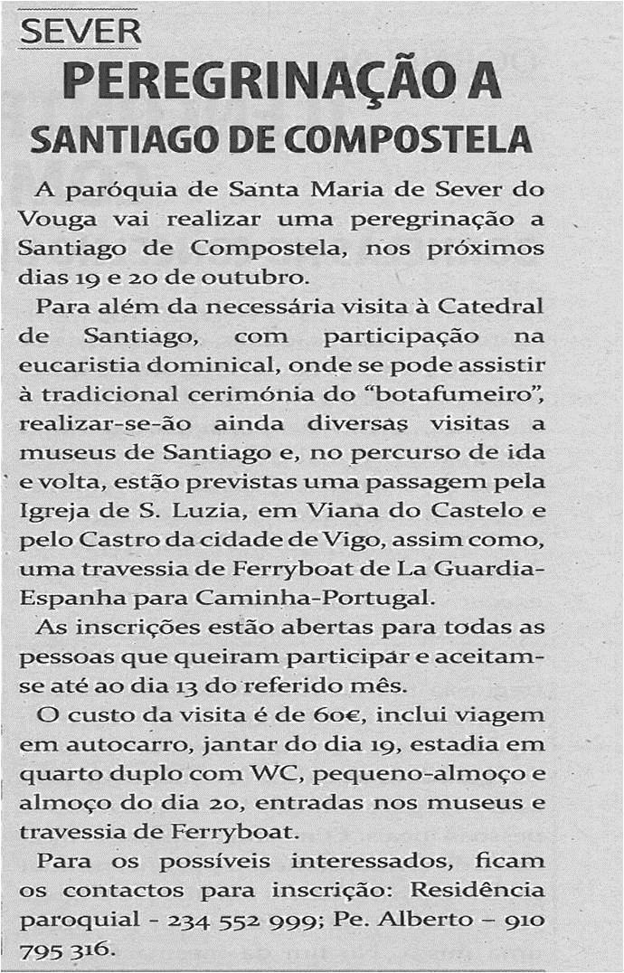 TV-out13-p13-Peregrinação a Santiago de Compostela