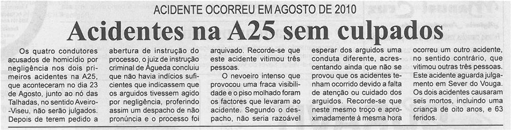 BV-2ªout'13-p2-Acidentes na A25 sem culpados
