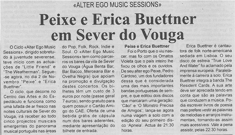 BV-2ªout'13-p4-Peixe e Erica Buettner em Sever do Vouga