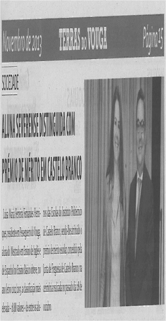 TV-nov13-p15-Aluna severense distinguida com Prémio de Mérito em Castelo Branco