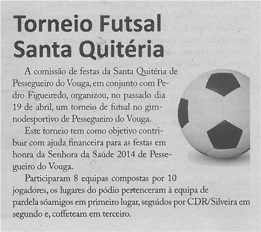 JPEG: EV-maio'14-p12-Torneio Futsal Santa Quitéria