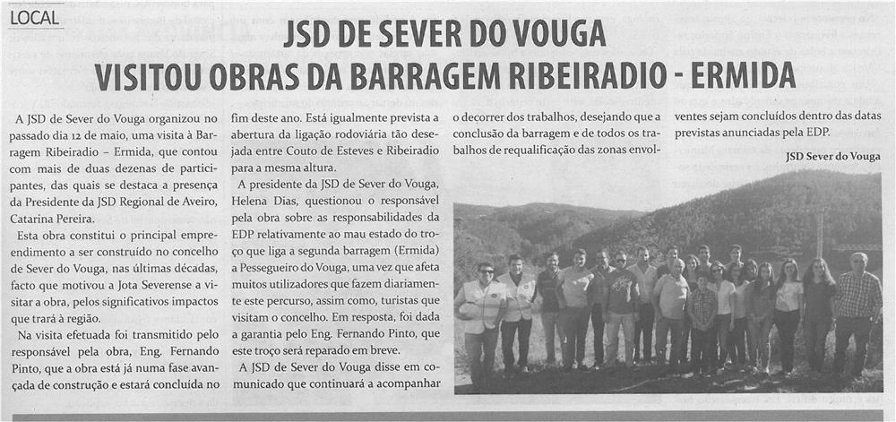 TV-jun14-p9-JSD de Sever do Vouga visitou obras da Barragem Ribeiradio-Ermida - JPG