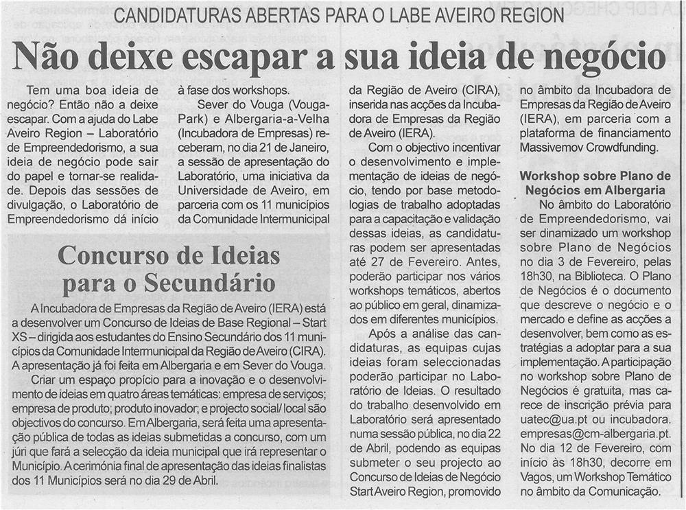 BV-1ªfev.'15-p.6-Não deixe escapar a sua ideia negócio - candidaturas abertas para o Labe Aveiro Region.jpg