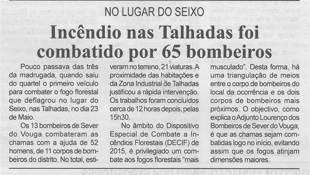 BV-2.ªmaio'15-p.4-Incêndio nas Talhadas foi combatido por 65 bombeiros : no lugar do Seixo.jpg