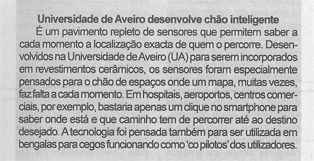 BV-1.ªjul.'15-p.5-Universidade de Aveiro desenvolve chão inteligente.jpg
