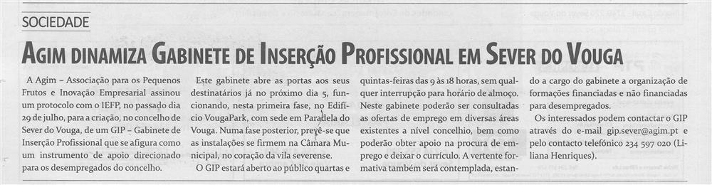 TV-ago.'15-p.18-AGIM dinamiza Gabinete de Inserção Profissional em Sever do Vouga.jpg