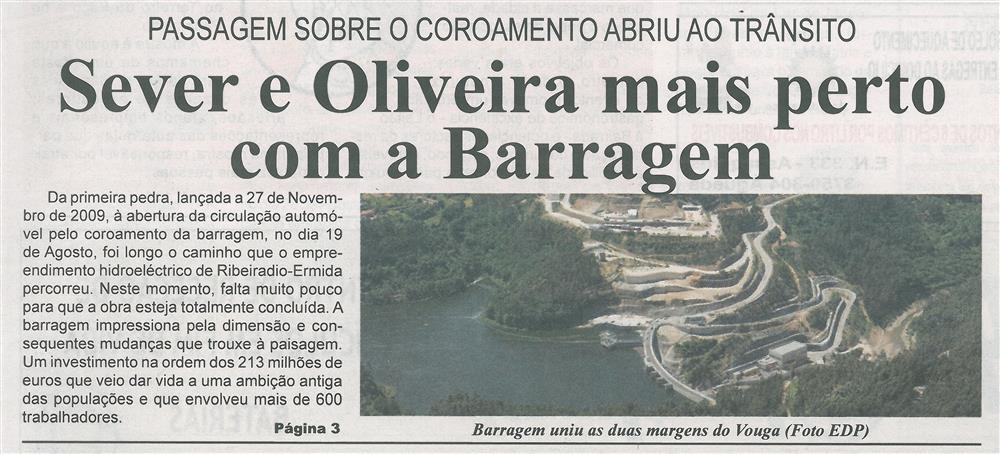BV-1.ªset.'15-p.1-Sever e Oliveira mais perto com a Barragem : passagem sobre o coroamento abriu ao trânsito.jpg