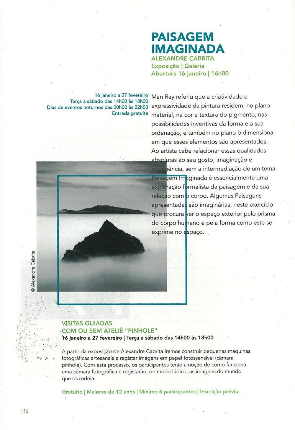 ACMSV-jan.,fev.,mar.'16-p.16-Paisagem imaginada : Alexandre Cabrita : visitas guiadas com ou sem ateliê Pinhole.jpg