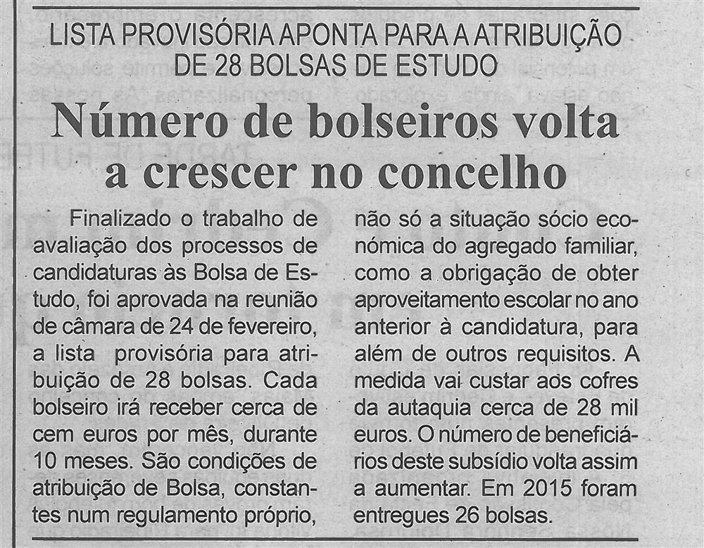 BV-1.ªMar.'16-p.5-Número de bolseiros volta a crescer no concelho : lista provisória aponta para a atribuição de 28 bolsas de estudo.jpg