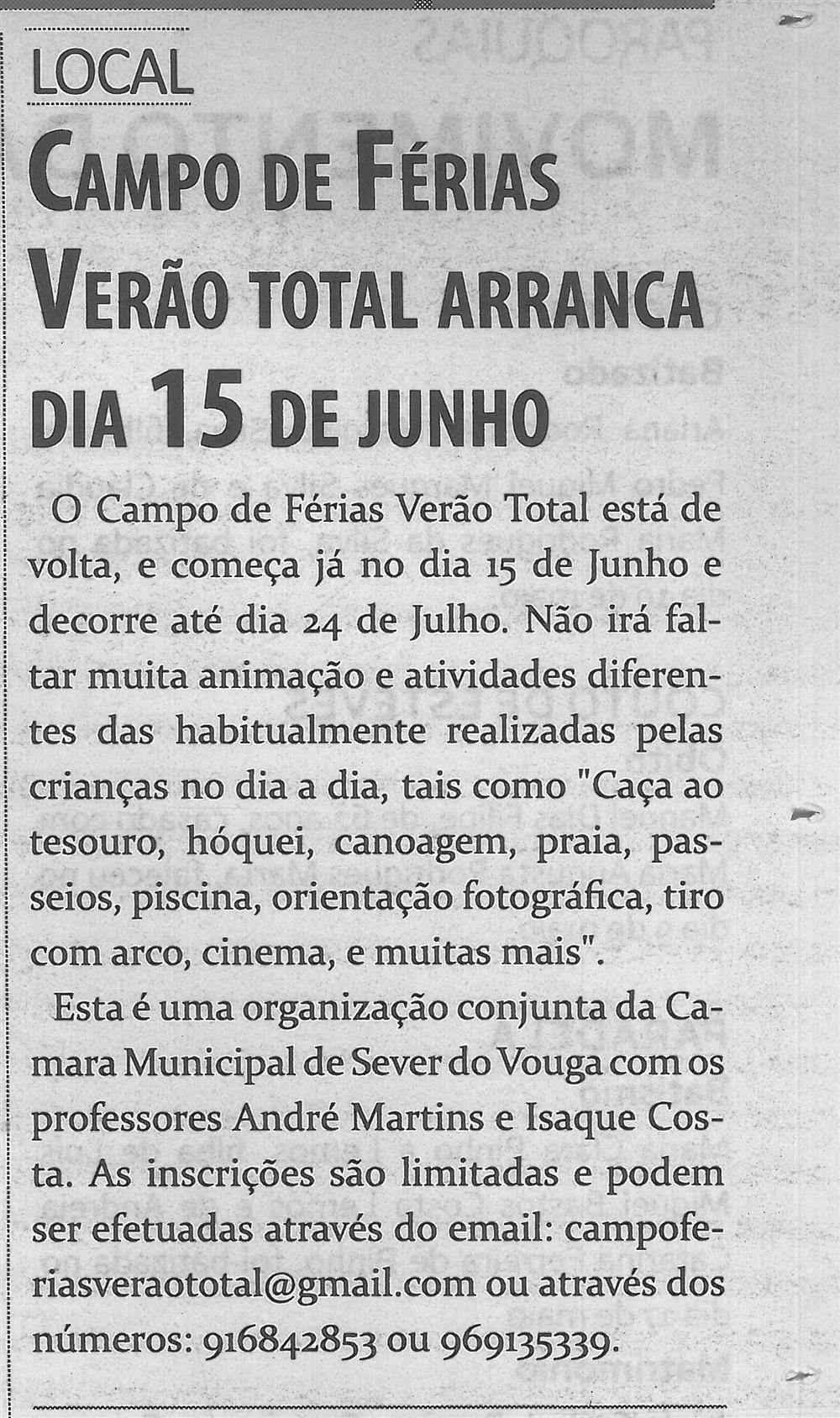 TV-jun'15-p 11 - Campo de Férias Verão Total arranca dia 15 de junho.jpg