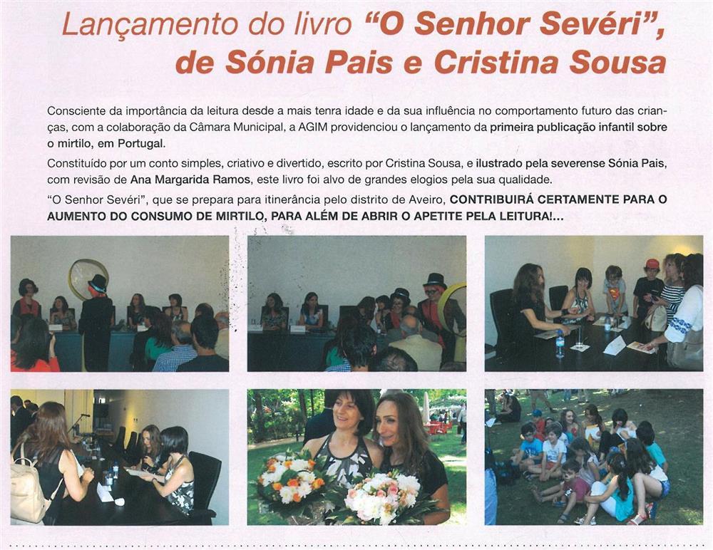 BoletimMunicipal-n.º32-nov.'15-p.31-Lançamento do livro O Senhor Sevéri, de Sónia Pais e Cristina Sousa.jpg