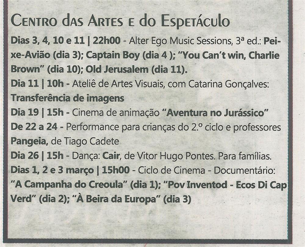 TV-fev.'17-p.15-Agenda Cultural [de] fevereiro e março : Centro das Artes e do Espetáculo.jpg