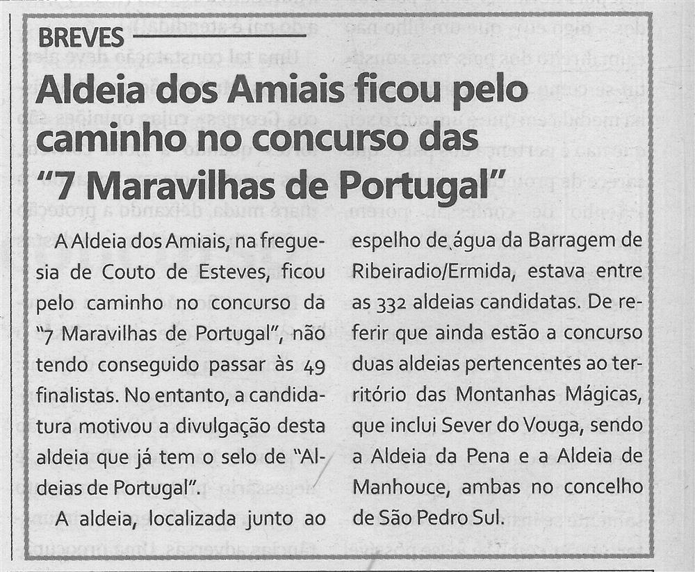 TV-maio'17-p.12-Aldeia dos Amiais ficou pelo caminho no Concurso das 7 Maravilhas de Portugal.jpg