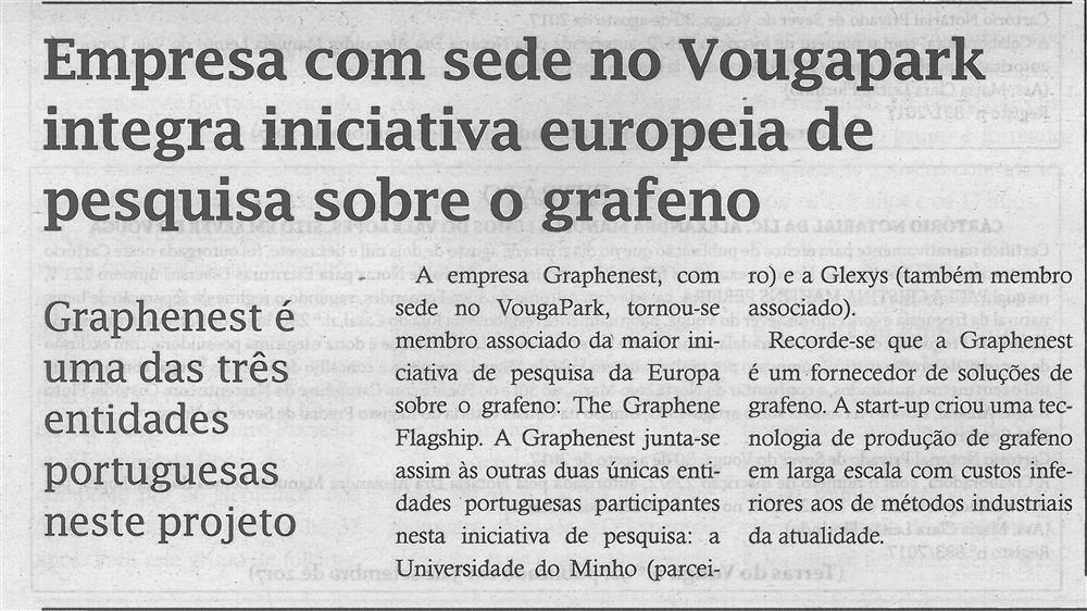 TV-set.'17-p.5-Empresa com sede no VougaPark integra iniciativa europeia de pesquisa sobre o grafeno : Graphenest é uma das três entidades portuguesas neste projeto.jpg