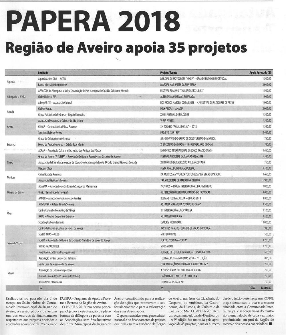 RA-Comunidade_Intermunicipal-abr.'18-p.9-PAPERA 2018 : Região de Aveiro apoia 35 projetos.jpg
