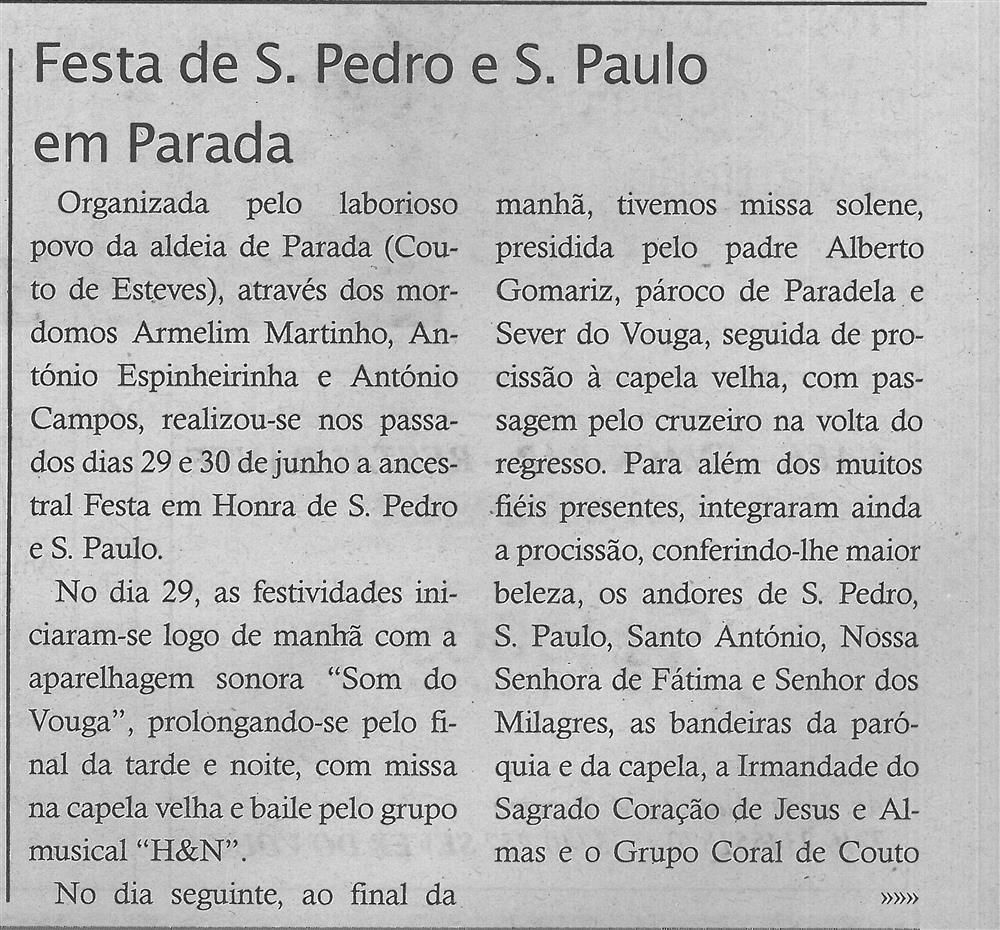TV-jul.'18-p.16-Festa de S. Pedro e S. Paulo em Parada [1.ª de duas partes].jpg