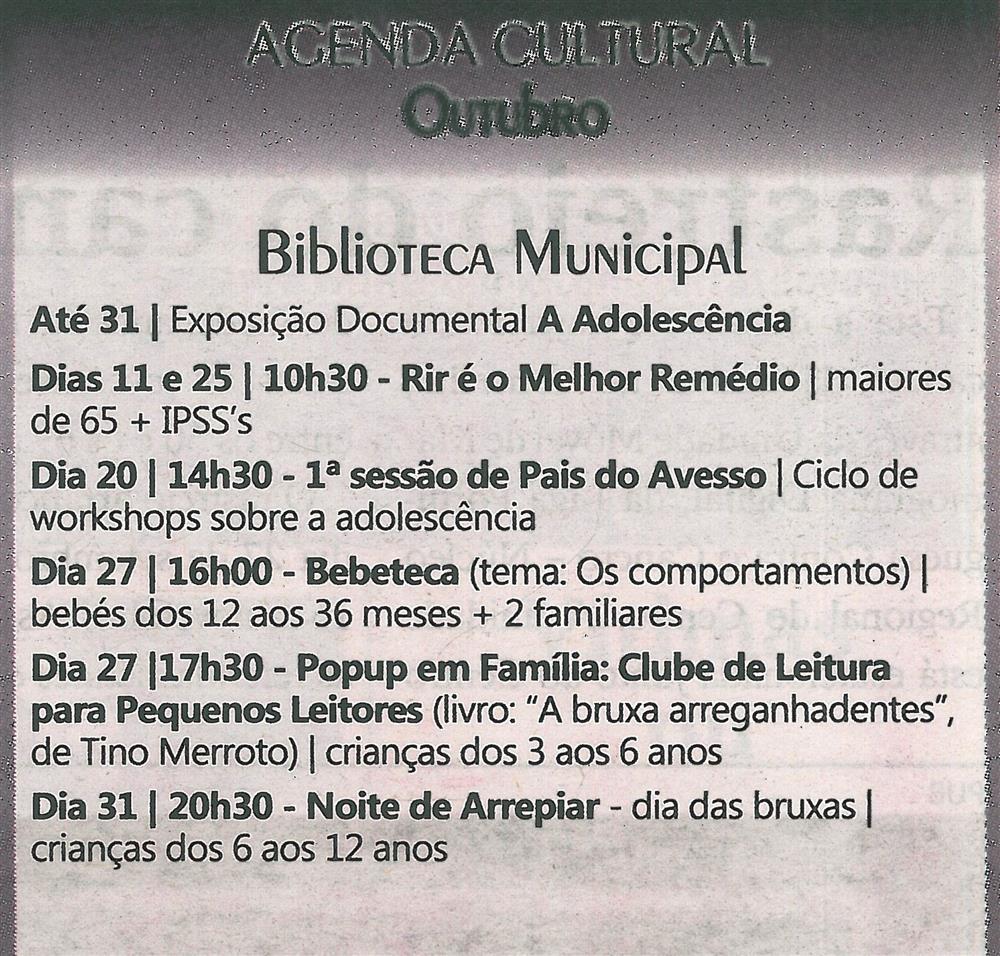 TV-out.'18-p.19-Agenda Cultural [de] outubro : Biblioteca Municipal.jpg