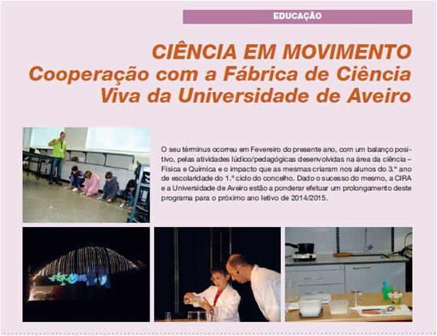 BoletimMunicipal-nº 31-nov'14-p.41-Ciência em movimento : cooperação com a Fábrica de Ciência Viva da Universidade de Aveiro.jpg