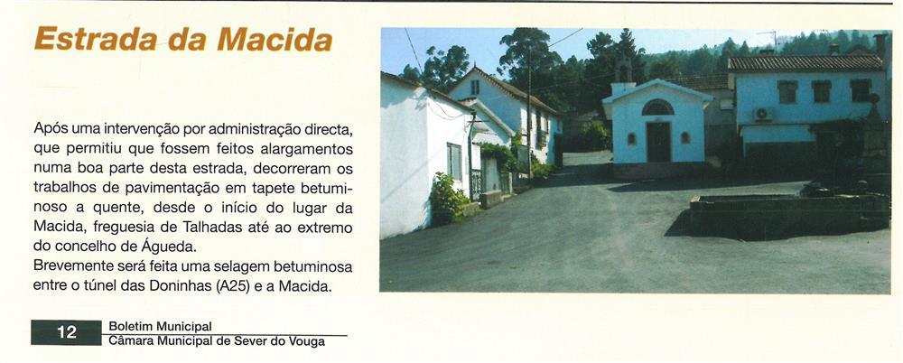 BoletimMunicipal-n.º 20-set.'06-p.12-Obras municipais : obras públicas : Estrada da Macida.jpg