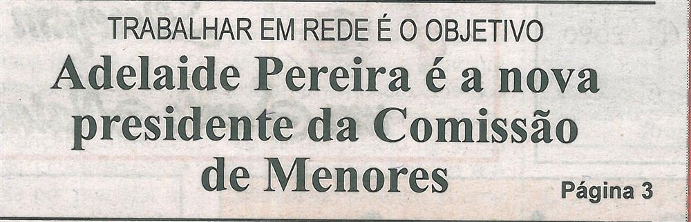 BV-2.ªdez.'19-p.1-Adelaide Pereira é a nova Presidente da Comissão de Menores.jpg