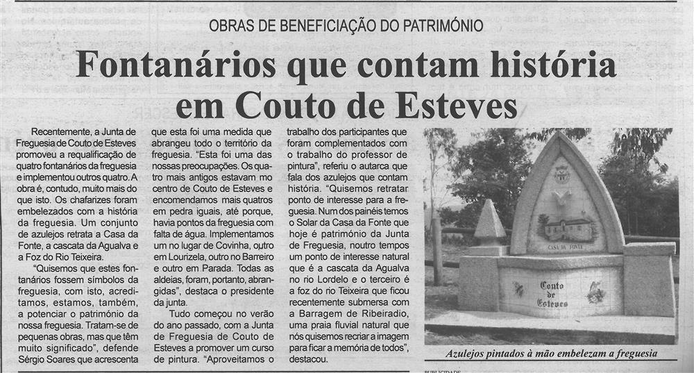 BV-1.ªago.'17-p.4-Fontanários que contam história em Couto de Esteves : obras de beneficiação do património.jpg