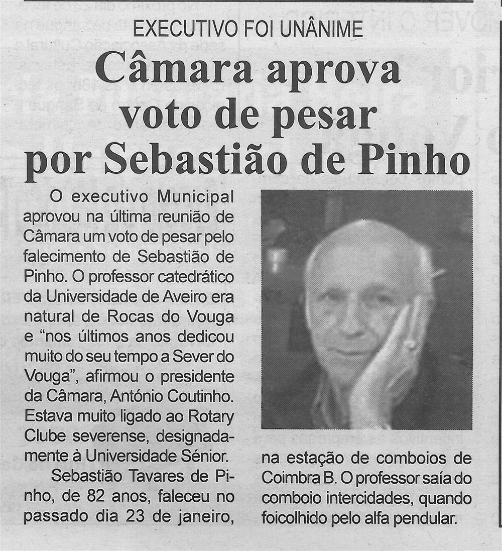 BV-2.ªfev.'20-p.4-Câmara aprova voto de pesar por Sebastião de Pinho.jpg