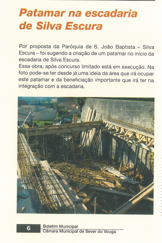BoletimMunicipal-n.º 21-mar.'07-p.6-Obras Municipais : Obras Públicas : patamar na escadaria de Silva Escura.jpg