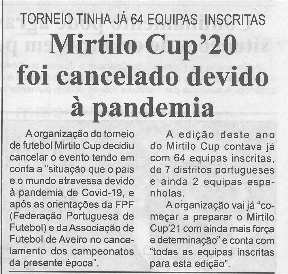BV-1.ªmaio'20-p.2-Mirtilo Cup?20 foi cancelado devido à pandemia : Torneio tinha já 64 equipas inscritas.jpg