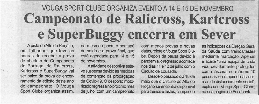 BV-2.ªjun.'20-p.2-Campeonato de ralicross, kartcross e superbuggy encerra em Sever : Vouga Sport Clube organiza evento a 14 e 15 de novembro.jpg