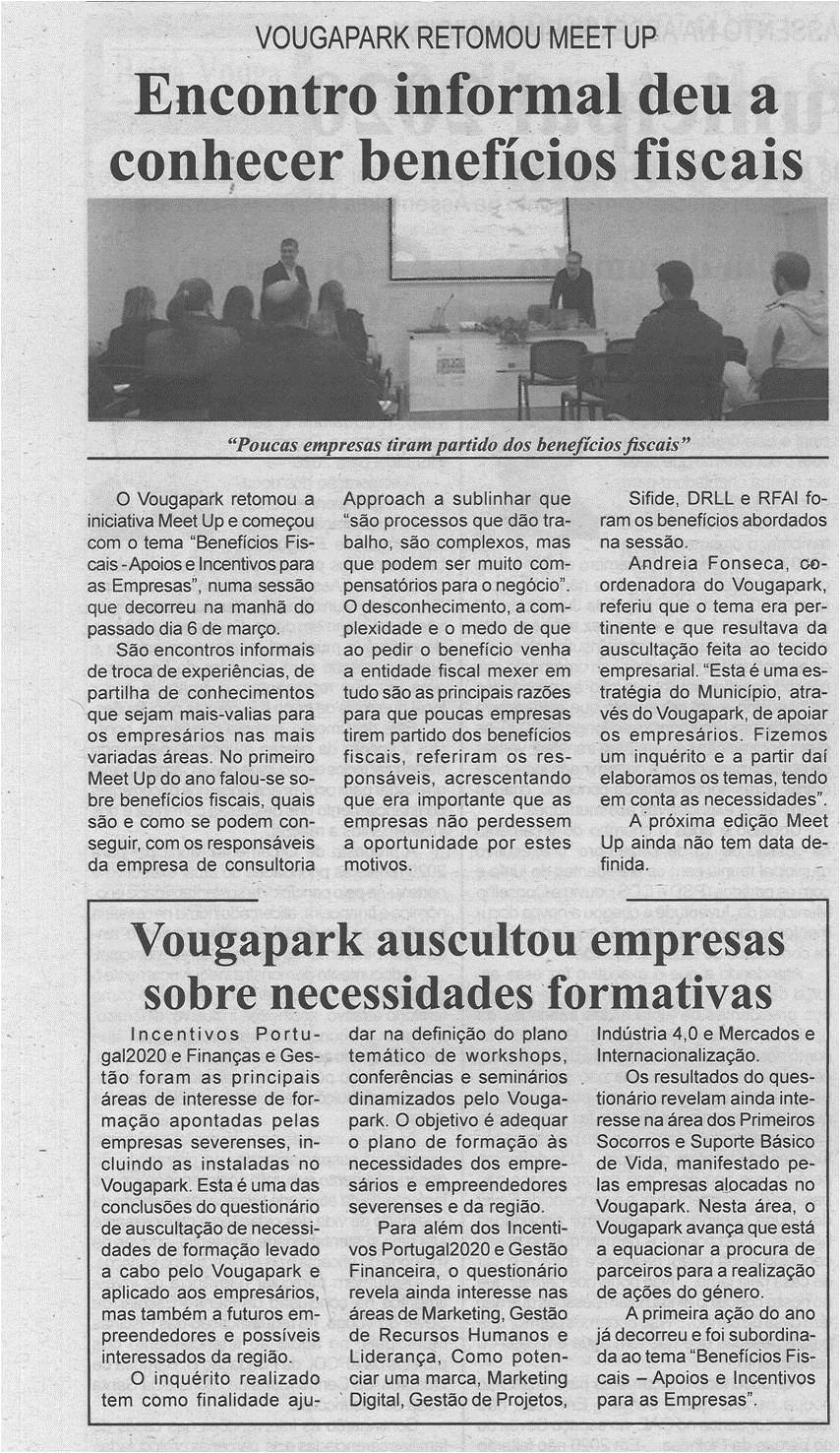 BV-2.ªmar.'20-p.6-Encontro informal deu a conhecer benefícios fiscais : VougaPark retomou meet up.jpg