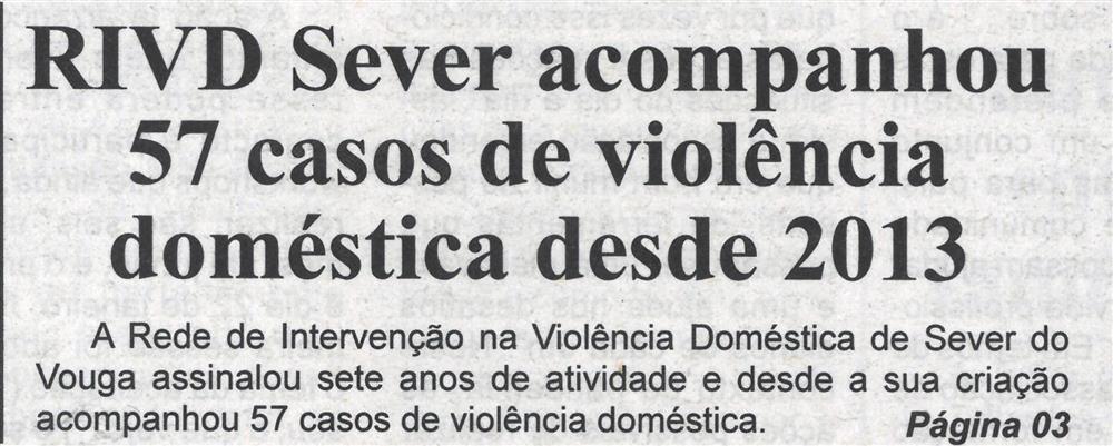 BV-23dez.'20-p.1-RIVD Sever acompanhou 57 casos de violência doméstica desde 2013.jpg
