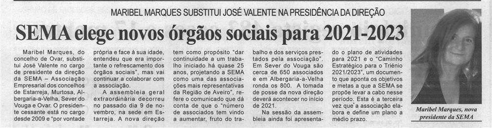 BV-23dez.'20-p.6-SEMA elege novos órgãos sociais para 2021-2023 : Maribel Marques substitui José Valente na Presidência da Direção.jpg
