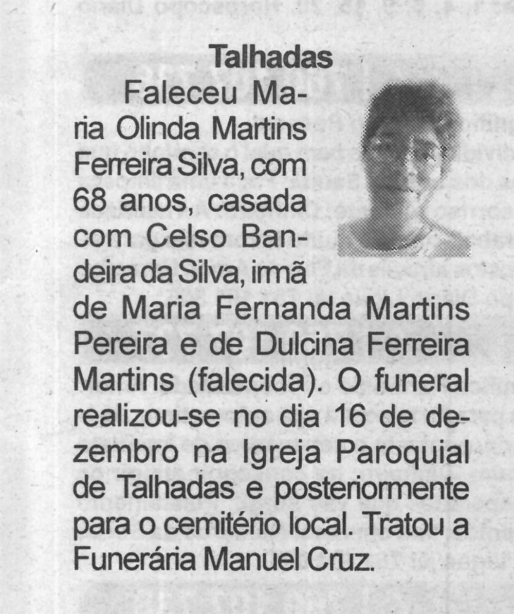BV-23dez.'20-p.13-Talhadas : [Maria Olinda Martins Ferreira Silva].jpg
