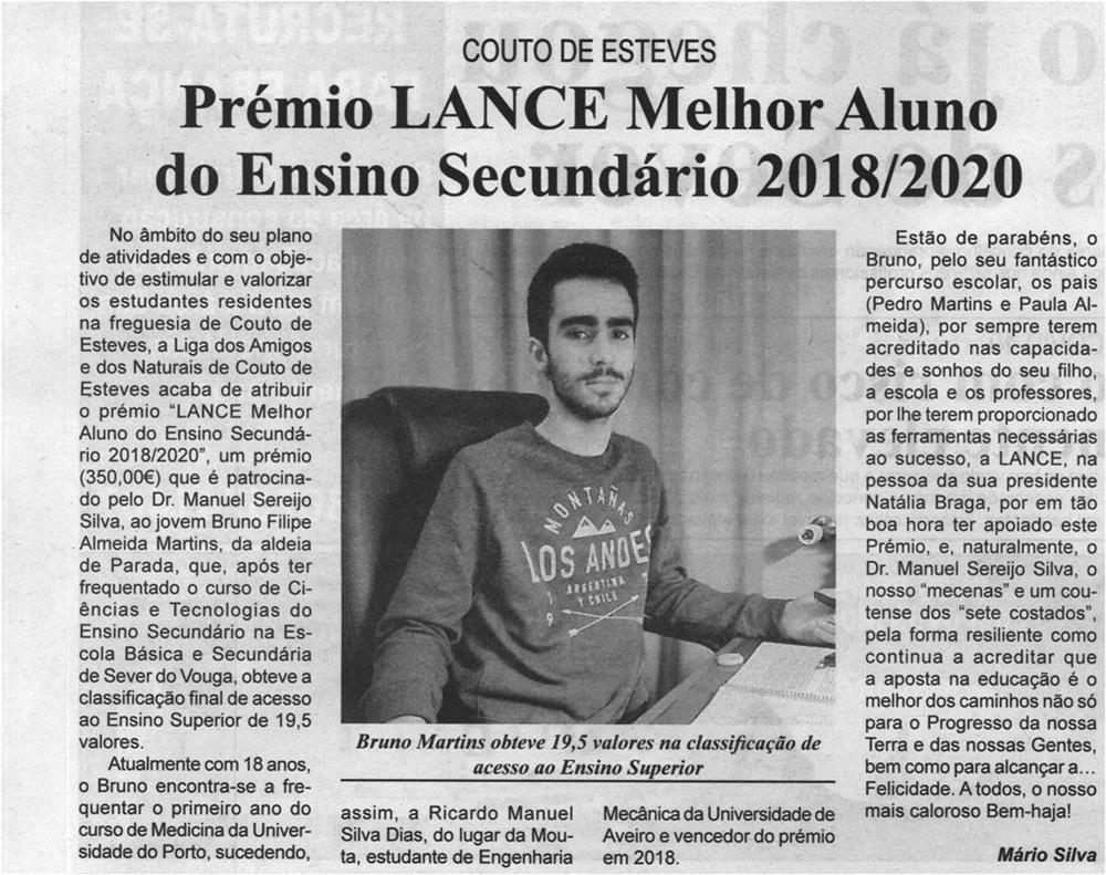 BV-2.ªjan.'21-p.2-Couto de Esteves : Prémio LANCE Melhor Aluno do Ensino Secundário 2018-2020.jpg