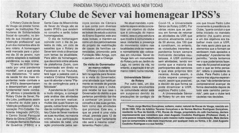 BV-2.ªjan.'21-p.5-Rotary Club de Sever vai homenagear IPSS's.jpg