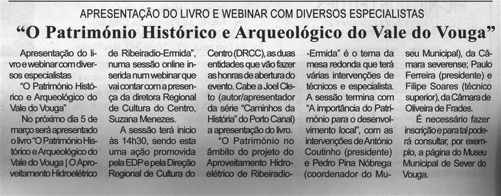 BV-1.ªmar.'21-p.2-O património histórico e arqueológico do Vale do Vouga : apresentação do livro e webinar com diversos especialistas.jpg