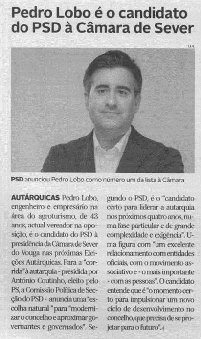 DA-09abr.'21-p.6-Pedro Lobo é o candidato do PSD à Câmara de Sever.jpg