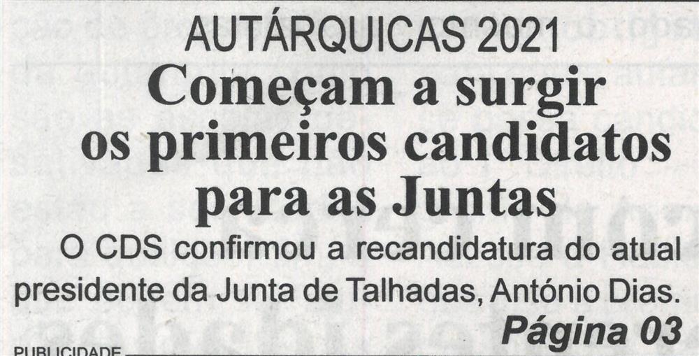 BV-1.ªjun.'21-p.1-Autárquicas 2021 : Começam a surgir os primeiros candidatos para as Juntas.jpg