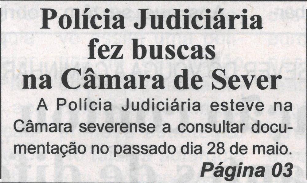 BV-1.ªjun.'21-p.1-Polícia Judiciária fez buscas na Câmara de Sever.jpg