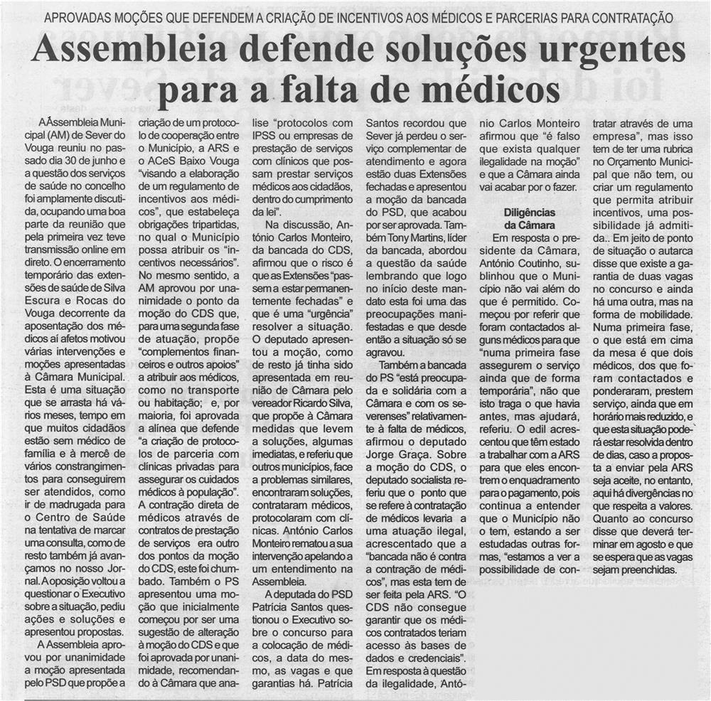 BV-1.ªjul.'21-p.7-Assembleia defende soluções urgentes para a falta de médicos : aprovadas moções que defendem a criação de incentivos aos médicos e parcerias para contratação.jpg