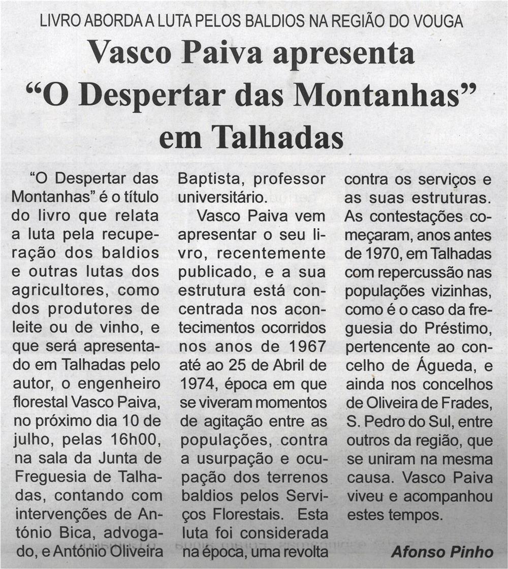 """BV-1.ªjul.'21-p.2-Vasco Paiva apresenta """"O despertar das montanhas"""" em Talhadas : livro aborda a luta pelos baldios na Região do Vouga.jpg"""